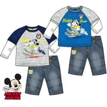 Set tricou si blug Disney Mickey